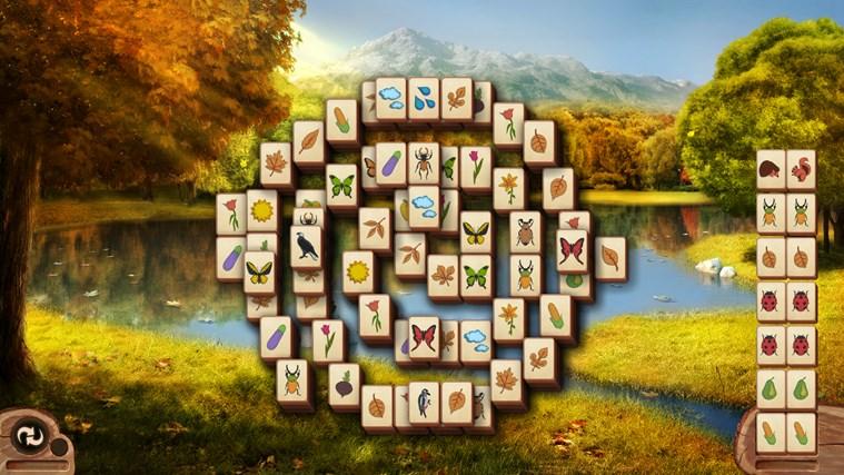 Microsoft Mahjong snímek obrazovky 1