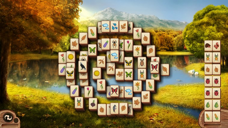Microsoft Mahjong screen shot 3