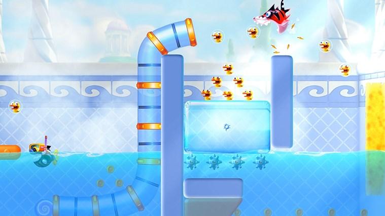 Shark Dash! By Gameloft screen shot 1