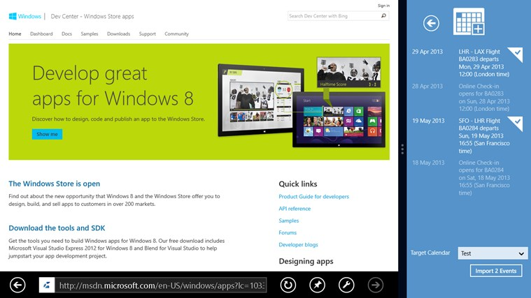 iCalendar Importer screen shot 5