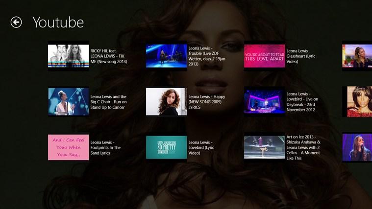 Leona Lewis Pro Screenshot 5