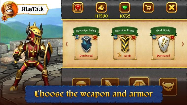 Sword vs Sword screen shot 3