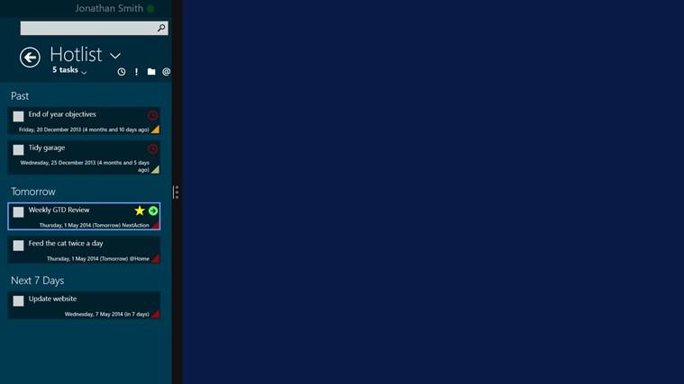 SharpTasks screen shot 3