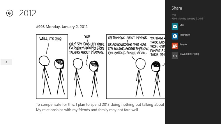 xkcd archives screen shot 3