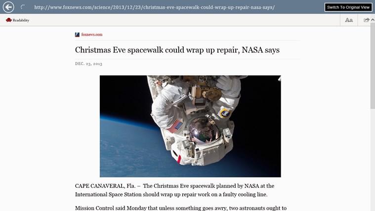 Google News - Reader screen shot 3