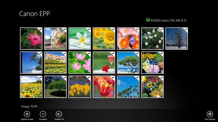 Canon Easy-PhotoPrint screen shot 1