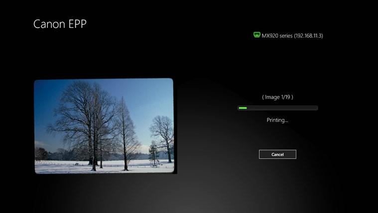 Canon Easy-PhotoPrint screen shot 3