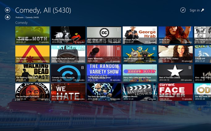 Audials Radio screen shot 5