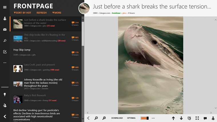 Reddit ReddHubV2 screen shot 1