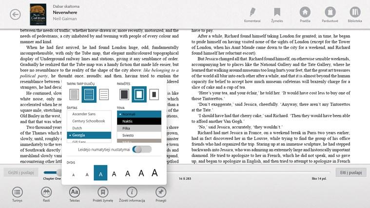 NOOK – Knygos, žurnalai, laikraščiai, komiksai ekrano nuotrauka 1