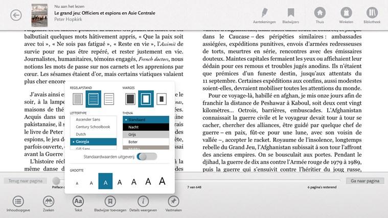 NOOK – Boeken, tijdschriften, kranten, stripboeken schermafbeelding 1