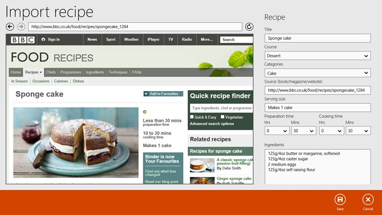 Recipe Keeper screen shot 3