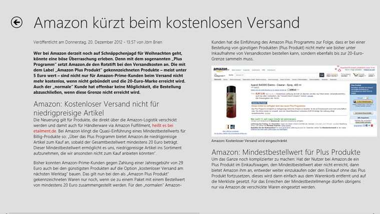 t3n Magazin Screenshot 1