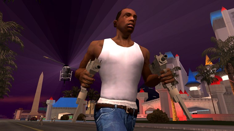 Grand Theft Auto: San Andreas screen shot 1