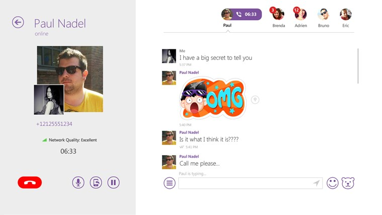 Viber - Free Phone Calls & Text screen shot 3