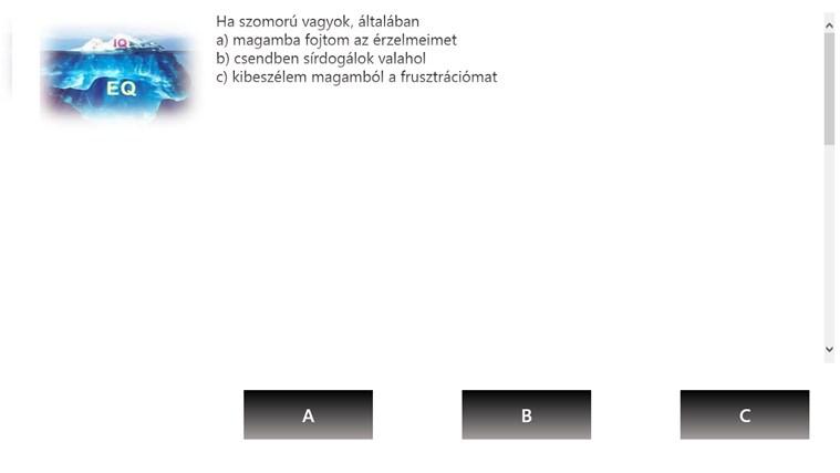 EQ Teszt – 1. képernyőkép