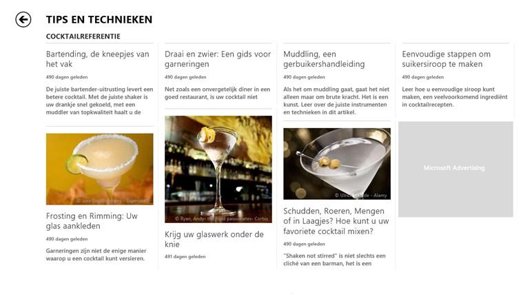 MSN eten en drinken schermafbeelding 3