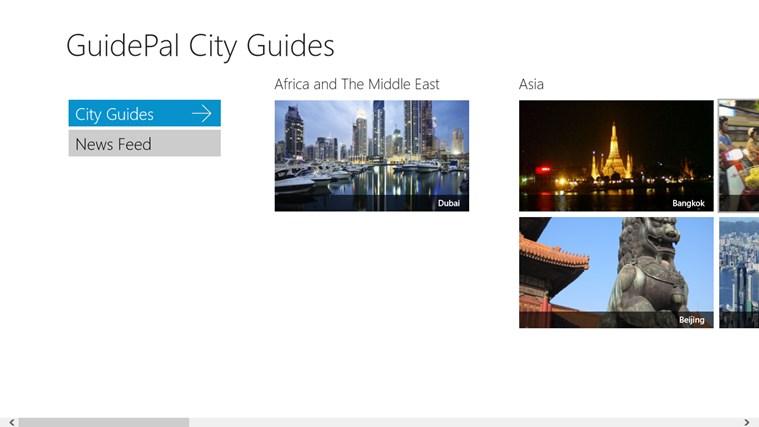 GuidePal-skärmbild 1