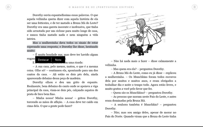 Kindle captura de tela 5