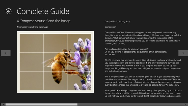 Digital Photography Guide n Tricks screen shot 5