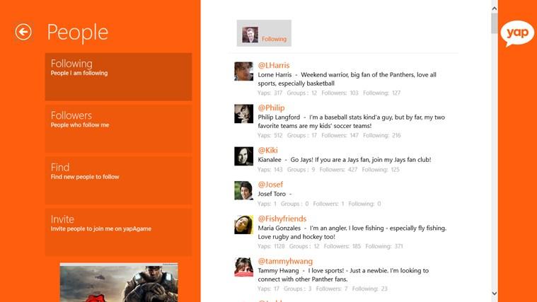 yapAgame screen shot 1
