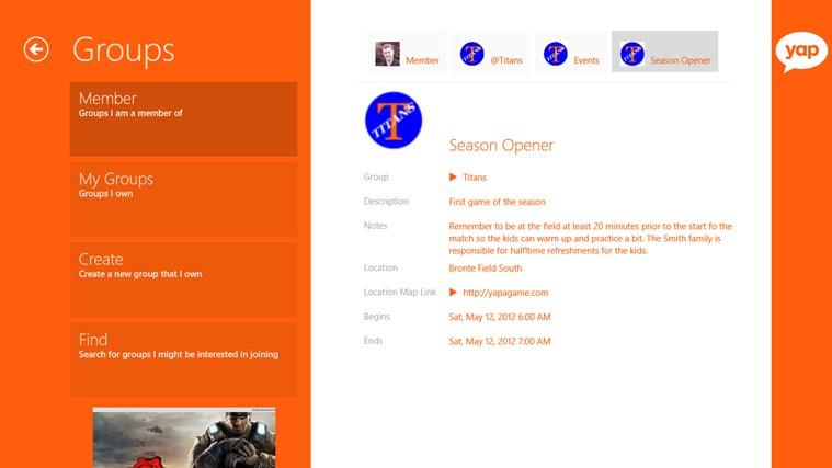 yapAgame screen shot 5