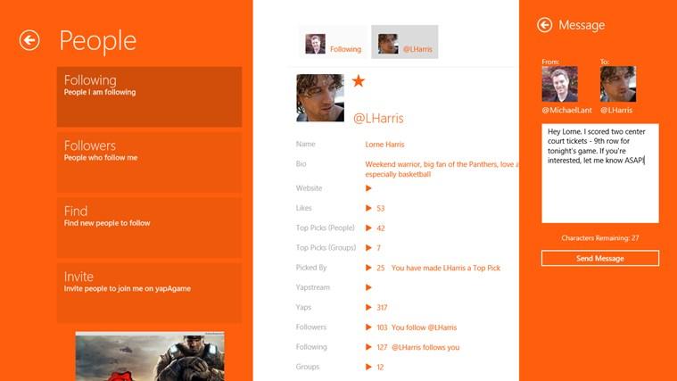 yapAgame screen shot 7