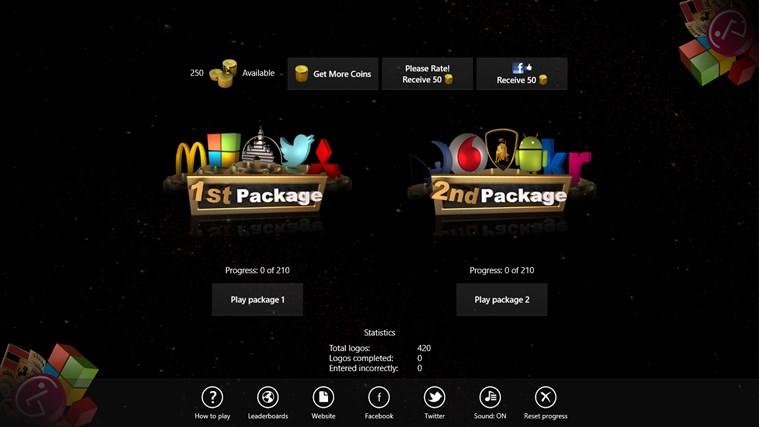 3D Logo Quiz screen shot 1
