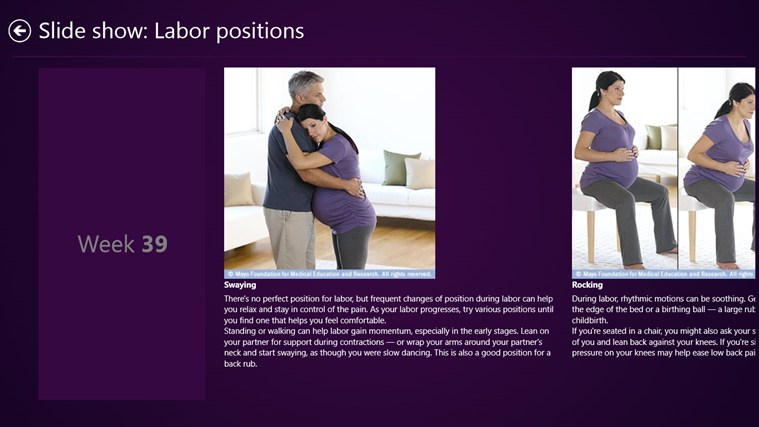 Mayo Clinic on Pregnancy screen shot 3