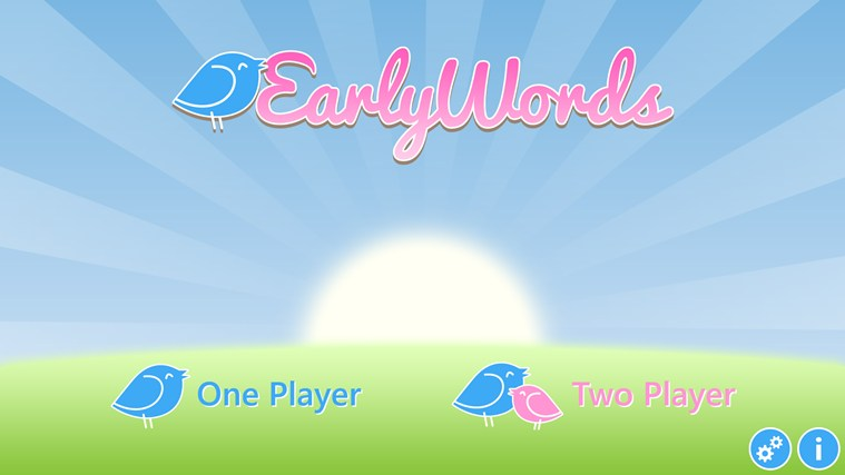Early Words screen shot 1