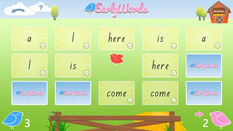 Early Words screen shot 3