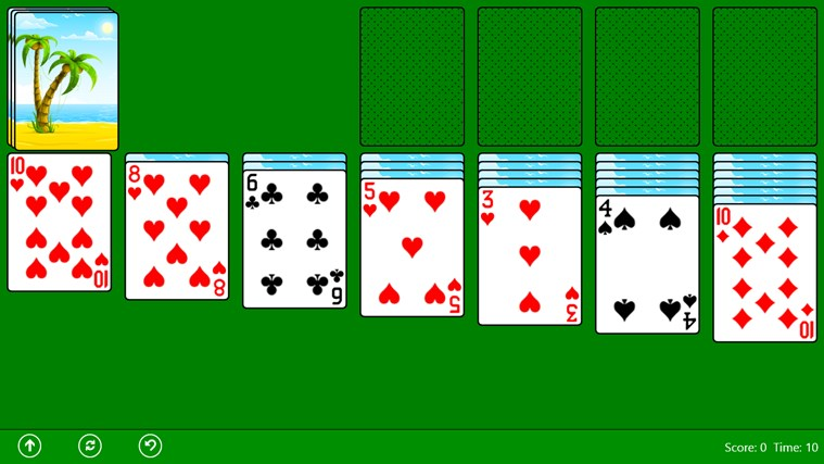 Classic Solitaire (Free) screen shot 1