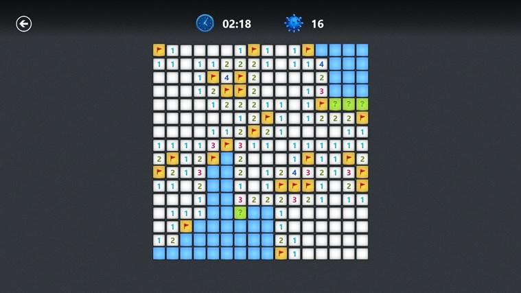 Microsoft Minesweeper snímek obrazovky 7
