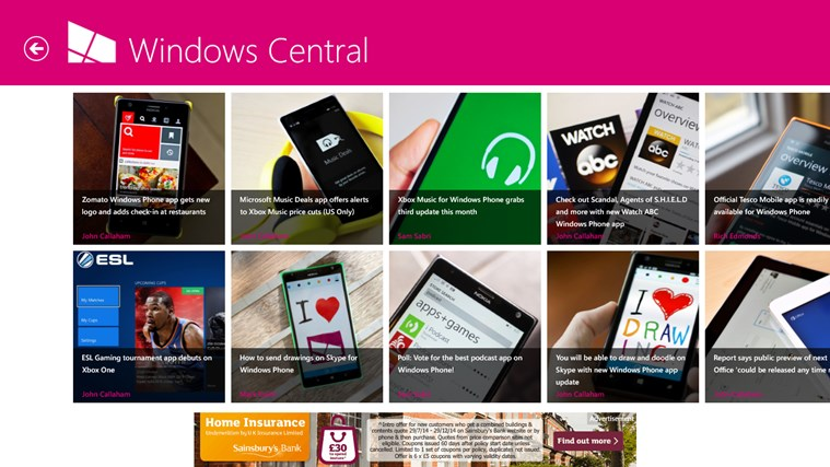 Windows Central screen shot 7