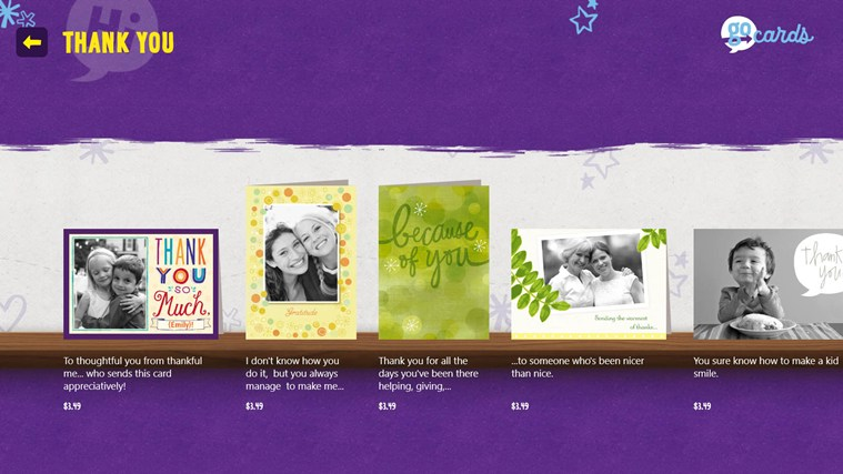 Hallmark Go Cards screen shot 1