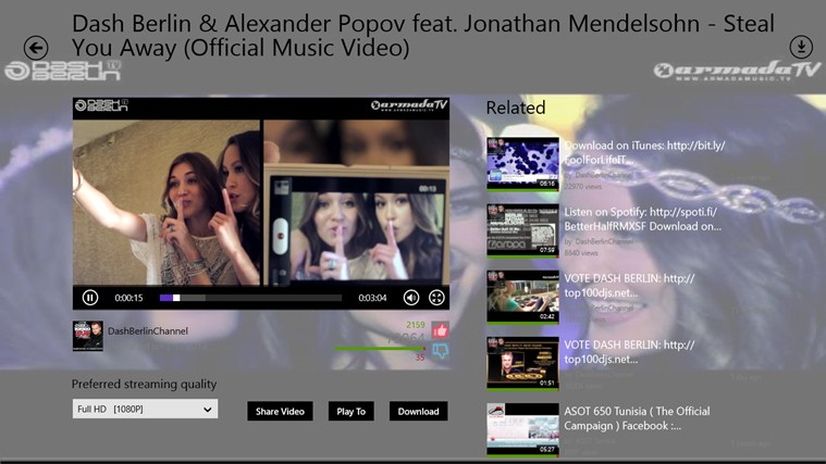 YouTube Downloader (HD) screen shot 5