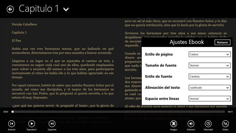 Cuentos Infantiles Religiosos screen shot 1