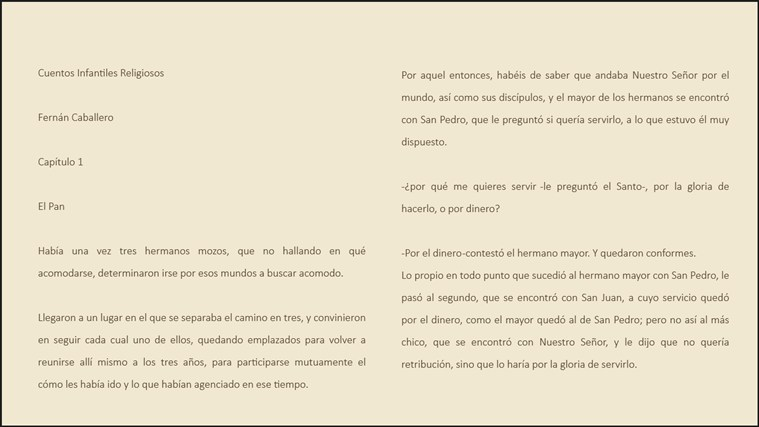 Cuentos Infantiles Religiosos screen shot 3