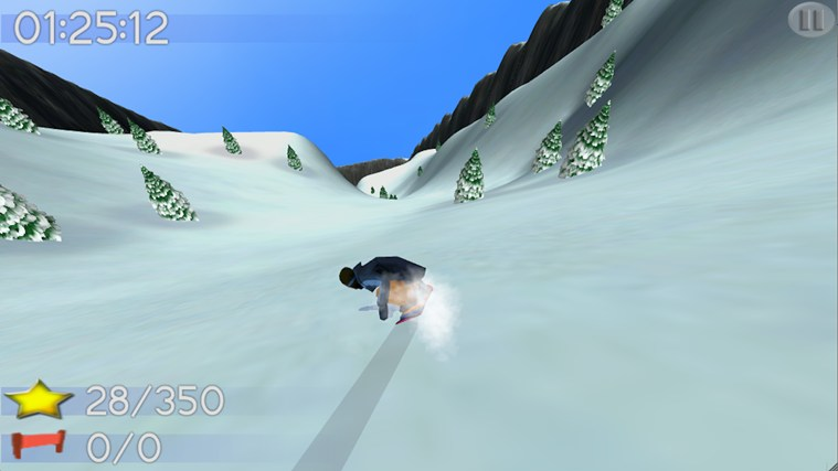 Big Mountain Snowboarding screen shot 5