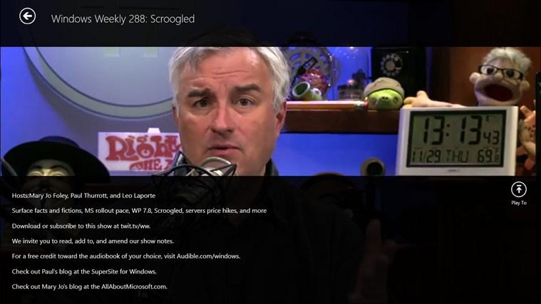 Twit Tv screen shot 3