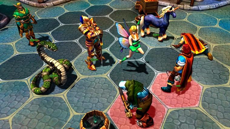 King's Bounty: Legions screen shot 1
