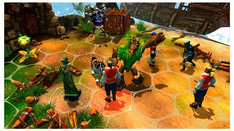 King's Bounty: Legions screen shot 3