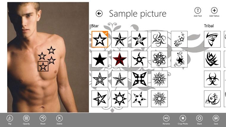 Tattoo Tester screen shot 1