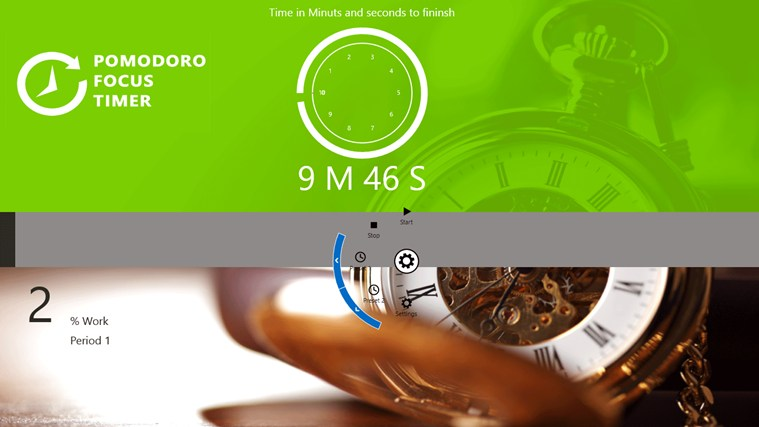 Pomodoro Focus Timer screen shot 1