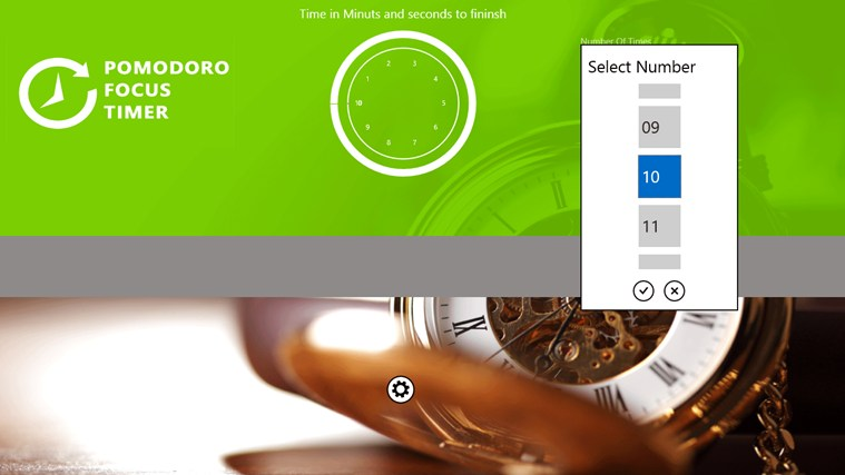 Pomodoro Focus Timer screen shot 3