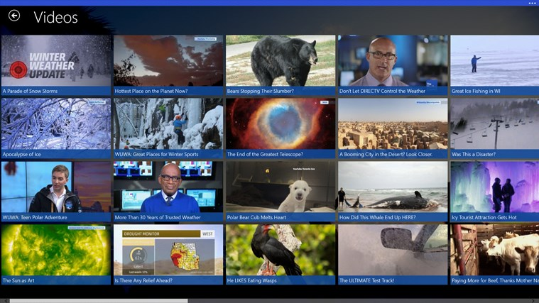 The Weather Channel screen shot 5