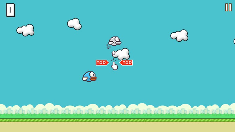 Flappy Bird HD screen shot 1