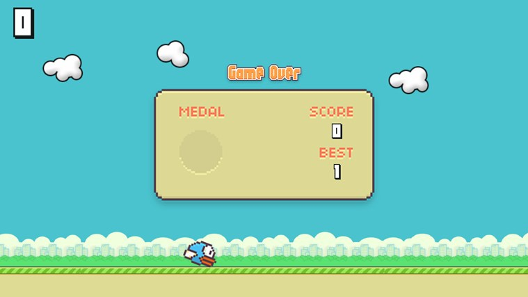 Flappy Bird HD screen shot 3