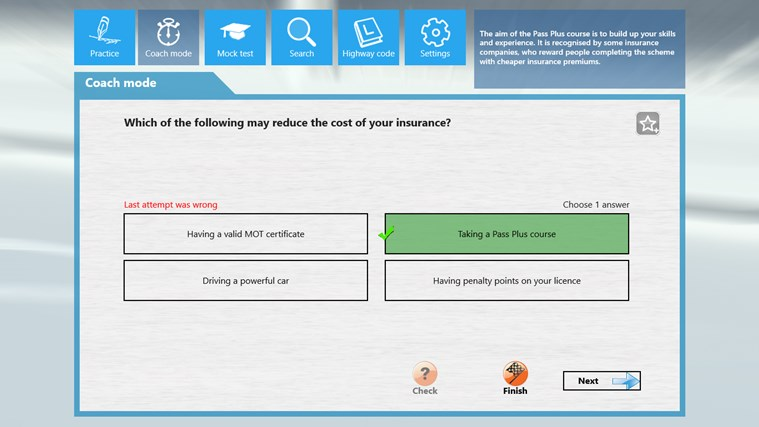 Motorcycle Theory Test screen shot 3