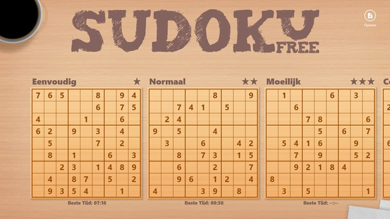 Sudoku Free schermafbeelding 1
